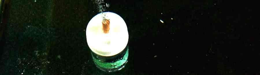 Подача СО2 в аквариум при помощи гейзера